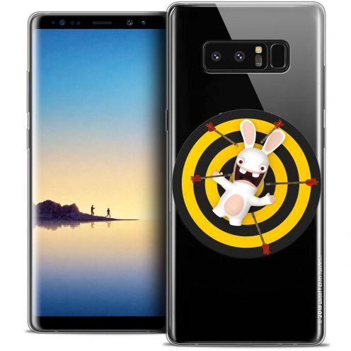 "Coque Gel Samsung Galaxy Note 8 (6.3"") Extra Fine Lapins Crétins™ - Target"