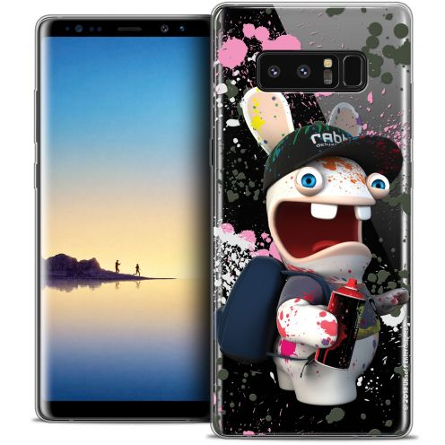 """Coque Gel Samsung Galaxy Note 8 (6.3"""") Extra Fine Lapins Crétins™ - Painter"""