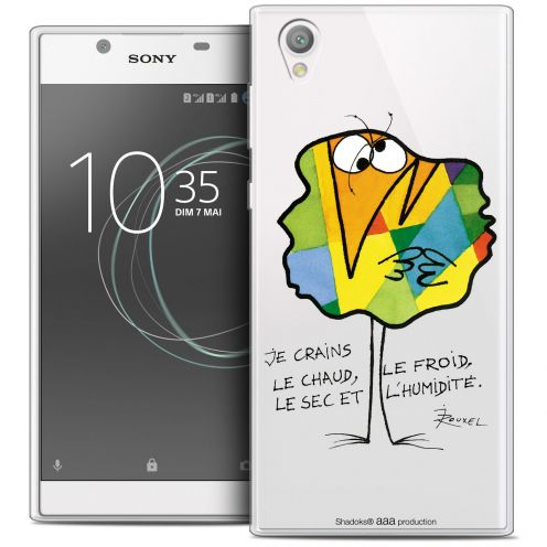"Coque Gel Sony Xperia L1 (5.5"") Extra Fine Les Shadoks® - Chaud ou Froid"