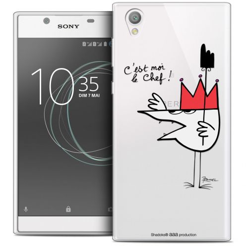 "Coque Gel Sony Xperia L1 (5.5"") Extra Fine Les Shadoks® - Le Chef"