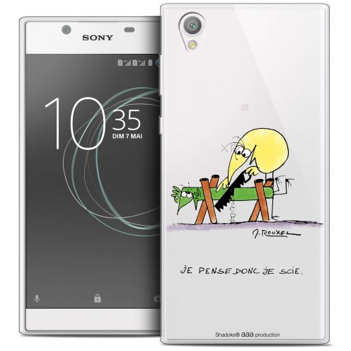 "Coque Gel Sony Xperia L1 (5.5"") Extra Fine Les Shadoks® - Je pense Donc"