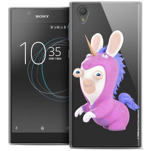 """Coque Gel Sony Xperia L1 (5.5"""") Extra Fine Lapins Crétins™ - Licorne"""