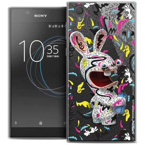 "Coque Gel Sony Xperia L1 (5.5"") Extra Fine Lapins Crétins™ - Tag"