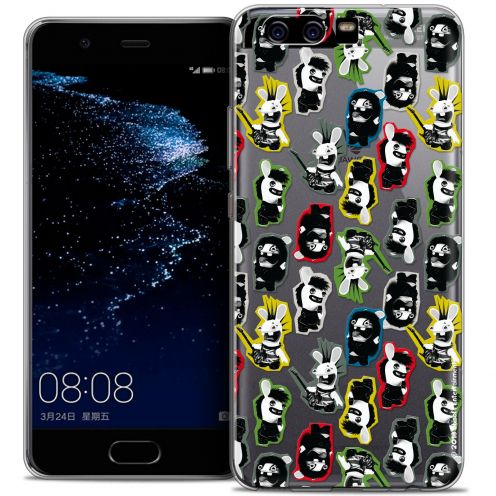 Coque Gel Huawei P10 Extra Fine Lapins Crétins™ - Punk Pattern