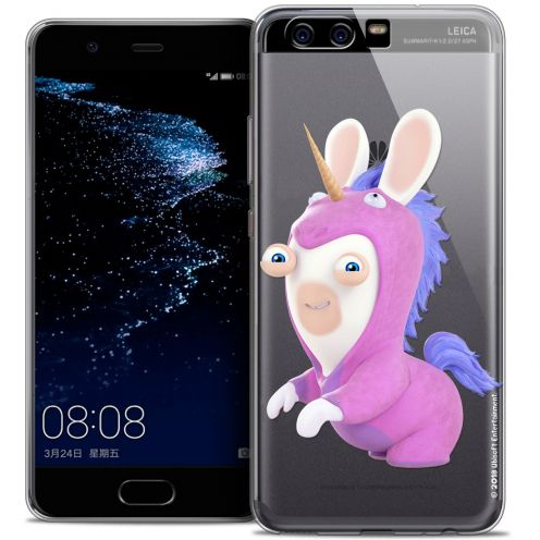 Coque Gel Huawei P10 Extra Fine Lapins Crétins™ - Licorne