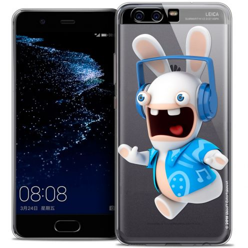 Coque Gel Huawei P10 Extra Fine Lapins Crétins™ - Techno Lapin