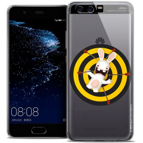Coque Gel Huawei P10 Extra Fine Lapins Crétins™ - Target