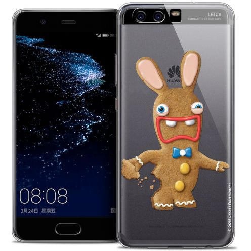 Coque Gel Huawei P10 Extra Fine Lapins Crétins™ - Cookie