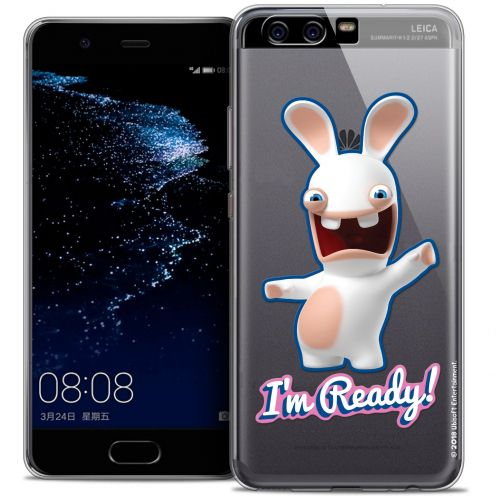 Coque Gel Huawei P10 Extra Fine Lapins Crétins™ - I'm Ready !
