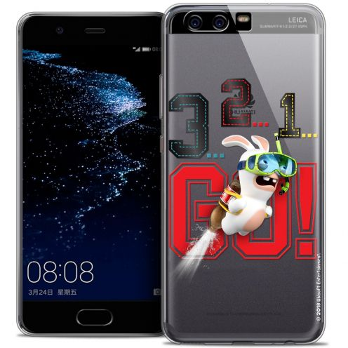 Coque Gel Huawei P10 Extra Fine Lapins Crétins™ - 321 Go !