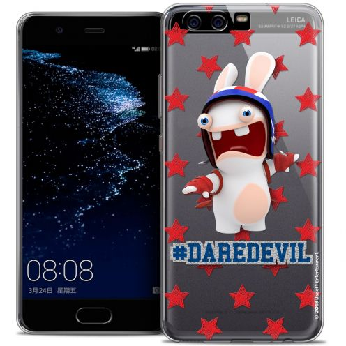 Coque Gel Huawei P10 Extra Fine Lapins Crétins™ - Dare Devil