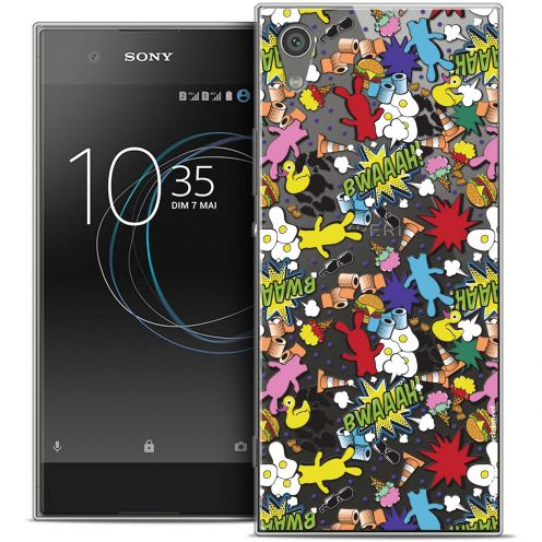 "Coque Rigide Sony Xperia XA1 (5"") Extra Fine Lapins Crétins™ - Bwaaah Pattern"