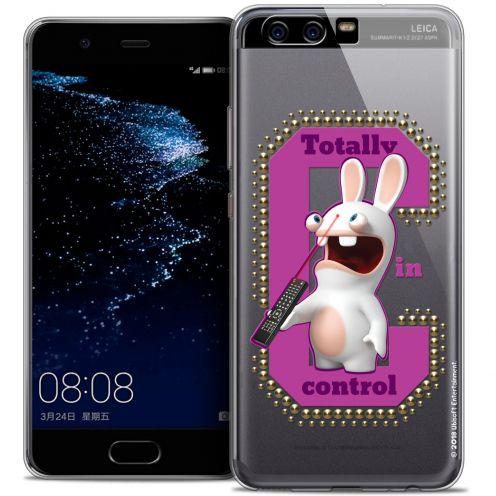 Coque Gel Huawei P10 Extra Fine Lapins Crétins™ - In Control !