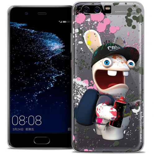 Coque Gel Huawei P10 Extra Fine Lapins Crétins™ - Painter