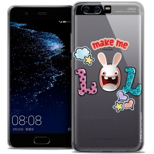 Coque Gel Huawei P10 Extra Fine Lapins Crétins™ - LOL