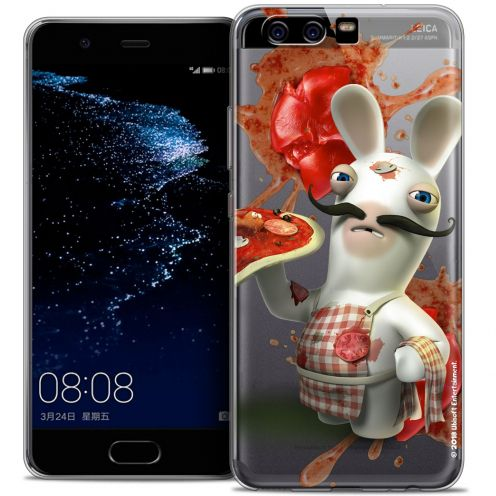 Coque Gel Huawei P10 Extra Fine Lapins Crétins™ - Cuisinier