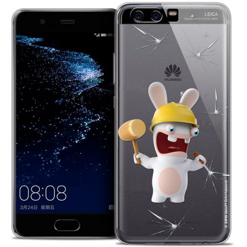 Coque Gel Huawei P10 Extra Fine Lapins Crétins™ - Breaker