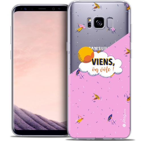 Coque Gel Samsung Galaxy S8 (G950) Extra Fine Petits Grains® - VIENS, On Vole !