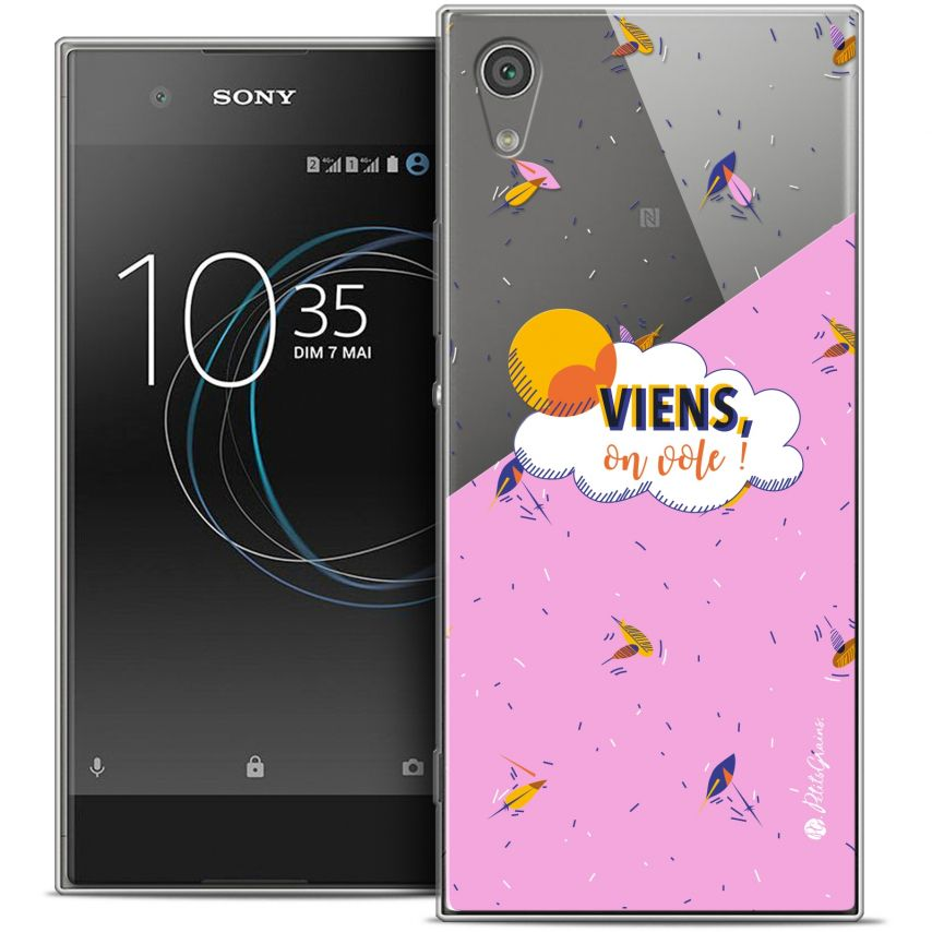 "Coque Gel Sony Xperia XA1 Ultra (6"") Extra Fine Petits Grains® - VIENS, On Vole !"