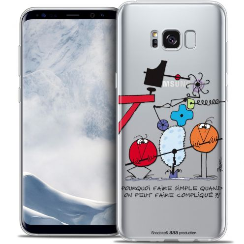 Coque Gel Samsung Galaxy S8 (G950) Extra Fine Les Shadoks® - Pourquoi faire Simple