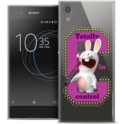 """Coque Gel Sony Xperia XA1 Ultra (6"""") Extra Fine Lapins Crétins™ - In Control !"""