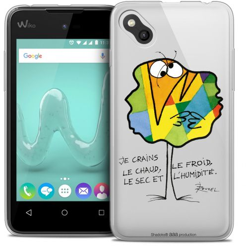 Coque Gel Wiko Sunny Extra Fine Les Shadoks® - Chaud ou Froid