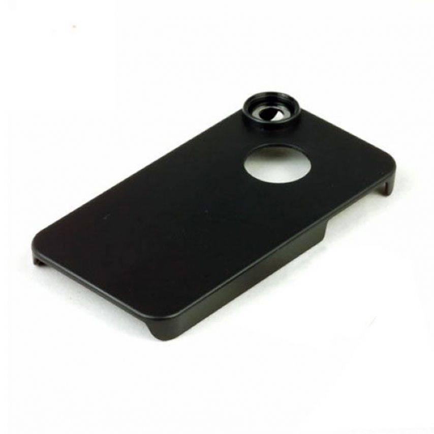 Zoom sur Coque iPhone 4S / 4 Pour Objectif / Lentille A Vis et Aimanté