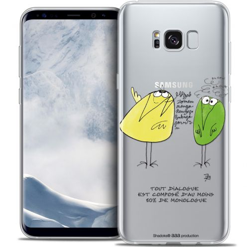 Coque Gel Samsung Galaxy S8 (G950) Extra Fine Les Shadoks® - Le Dialogue