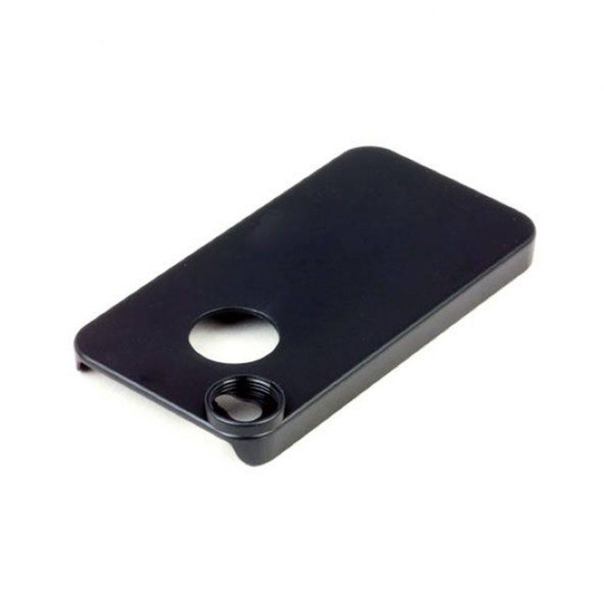 Visuel unique de Coque iPhone 4S / 4 Pour Objectif / Lentille A Vis et Aimanté