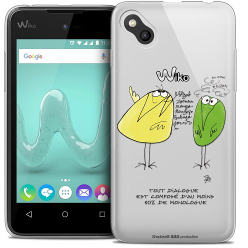 Coque Gel Wiko Sunny Extra Fine Les Shadoks® - Le Dialogue