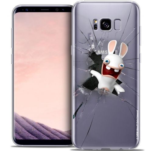 Coque Gel Samsung Galaxy S8 (G950) Extra Fine Lapins Crétins™ - Breaking Glass