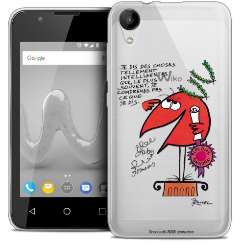 """Coque Wiko Sunny 2 Gel (4"""") Extra Fine Les Shadoks® - Intelligent"""