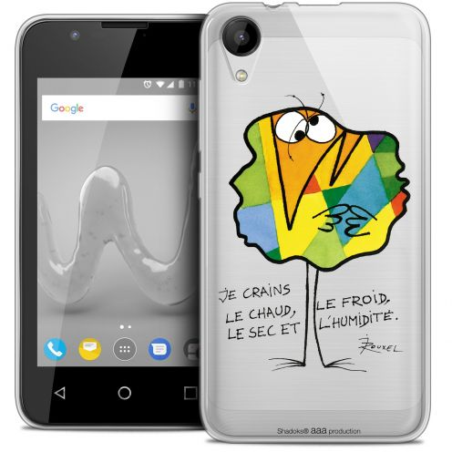 """Coque Wiko Sunny 2 Gel (4"""") Extra Fine Les Shadoks® - Chaud ou Froid"""