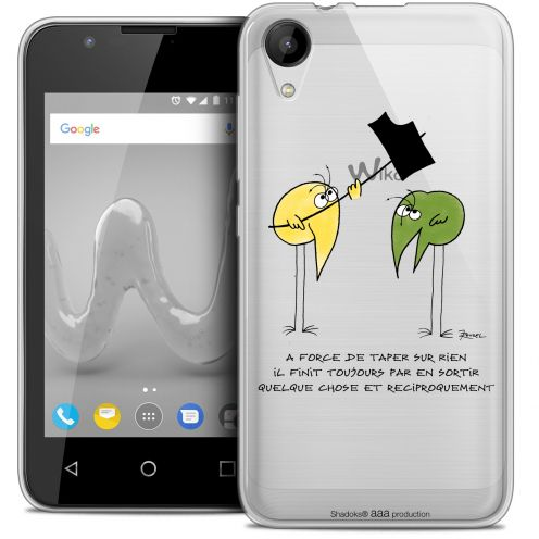 """Coque Wiko Sunny 2 Gel (4"""") Extra Fine Les Shadoks® - A Force"""