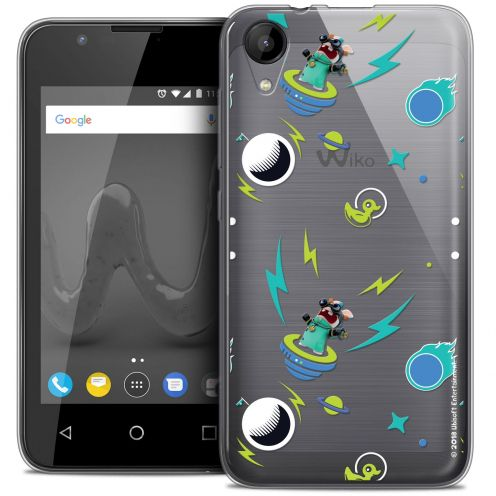 """Coque Wiko Sunny 2 Gel (4"""") Extra Fine Lapins Crétins™ - Space 1"""