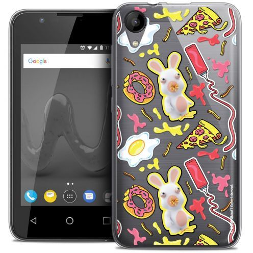 """Coque Wiko Sunny 2 Gel (4"""") Extra Fine Lapins Crétins™ - Egg Pattern"""