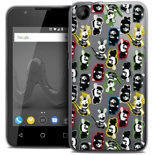 """Coque Wiko Sunny 2 Gel (4"""") Extra Fine Lapins Crétins™ - Punk Pattern"""