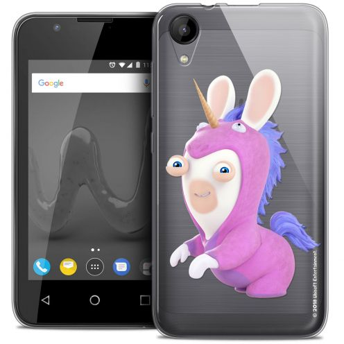"""Coque Wiko Sunny 2 Gel (4"""") Extra Fine Lapins Crétins™ - Licorne"""