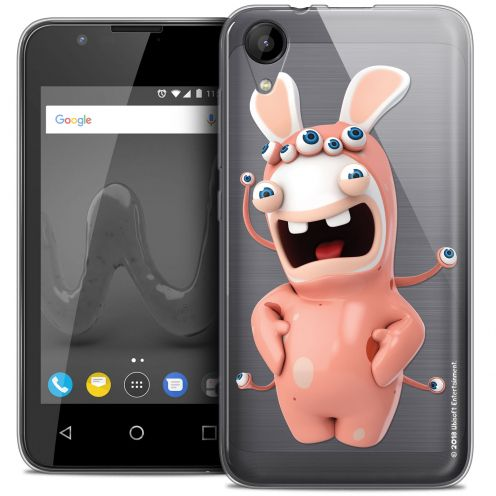 """Coque Wiko Sunny 2 Gel (4"""") Extra Fine Lapins Crétins™ - Extraterrestre"""
