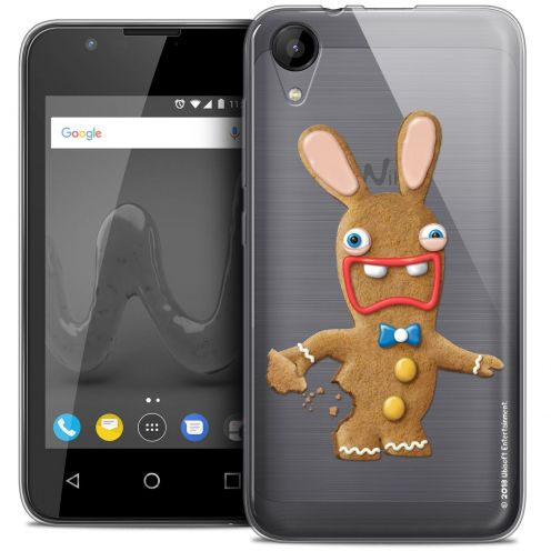"""Coque Wiko Sunny 2 Gel (4"""") Extra Fine Lapins Crétins™ - Cookie"""