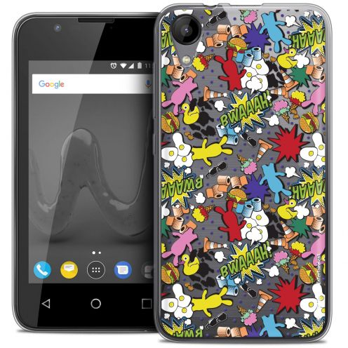 """Coque Wiko Sunny 2 Gel (4"""") Extra Fine Lapins Crétins™ - Bwaaah Pattern"""