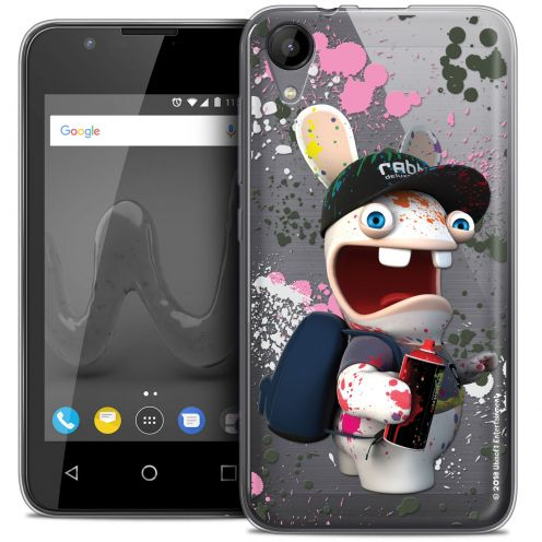 """Coque Wiko Sunny 2 Gel (4"""") Extra Fine Lapins Crétins™ - Painter"""