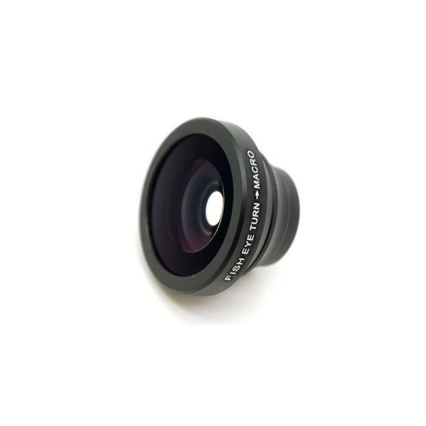 Zoom sur Objectif Fish-Eye 180° Macro Photo / Video iPhone 3G / iPhone 4 / 4S
