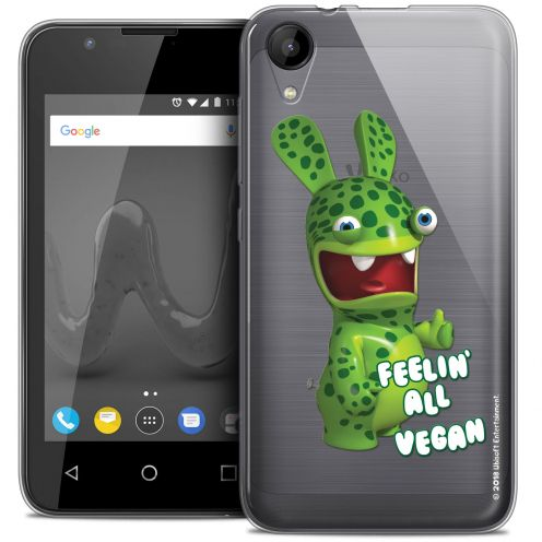"""Coque Wiko Sunny 2 Gel (4"""") Extra Fine Lapins Crétins™ - Vegan"""