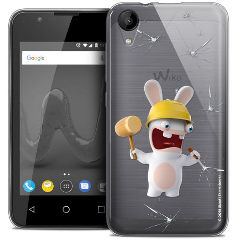 """Coque Wiko Sunny 2 Gel (4"""") Extra Fine Lapins Crétins™ - Breaker"""