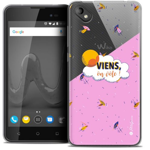 "Coque Gel Wiko Sunny 2 PLUS (5"") Extra Fine Petits Grains® - VIENS, On Vole !"