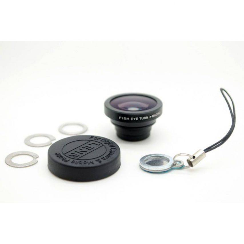 Visuel supplémentaire de Objectif Fish-Eye 180° Macro Photo / Video iPhone 3G / iPhone 4 / 4S