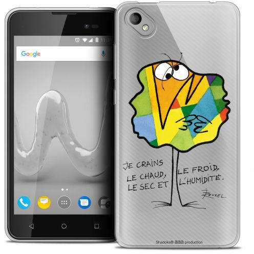 "Coque Gel Wiko Sunny 2 PLUS (5"") Extra Fine Les Shadoks® - Chaud ou Froid"