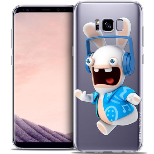 Coque Gel Samsung Galaxy S8+/ Plus (G955) Extra Fine Lapins Crétins™ - Techno Lapin