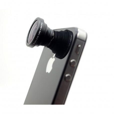 fdba8b9df2f5 Objectif 2 en 1 Macro + Grand-Angle Photo   Video iPhone iPhone 5 ...